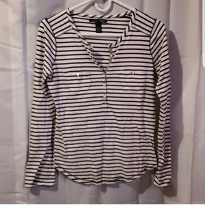 ❤ 3/$15 Lucky Brand striped long sleeve tshirt
